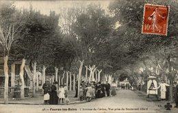 FOURAS LES BAINS AVENUE DU CASINO VUE PRISE DU BOULEVARD ALLARD - Fouras-les-Bains