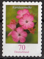 Germania 2009 Sc. 2422 Flowers Fiori : Dianthus Carthusianorum Garofanino Dei Certosini Perf. 10 E 1/4 X 10 Used Germany - Plants