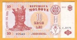 2013 Moldova ; Moldavie ; Moldau    10 LEI   517463 - Moldova