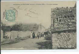 Le Cyclone De Cravant-3 Juillet 1905-Toitures Enlevées - Other Municipalities