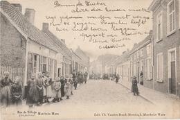 MOERBEKE WAAS  Rue Du Village Dorpstraat - Mörbeke-Waas