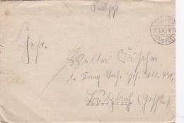 Feldpost WW2: To Infanterie Ersatz Bataillon 471 In Butzbach (Hessen) P/m Thüring. 16.8.1942 - Letter Inside  (SKO15-31) - WW2