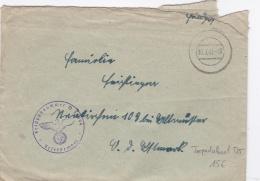 Feldpost WW2: Torpedoboot T-25 From 4. Torpedoboots-Flottille FP 50999 P/m 10.3.1943 - Letter Inside (SKO15-31) - WW2