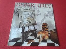 ANTIGUA REVISTA MAGAZINE DEPARTURES EUROPE JULY AUGUST JULIO AGOSTO 1990 PUBLICIDAD JEEP Y MÁS VER FOTO/S Y DESCRIPCIÓN - Revistas & Periódicos