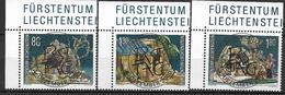 2000  Liechtenstein   Mi. 1249-51 Used  Weihnachten: Krippen - Liechtenstein