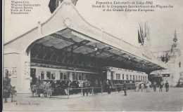 Liège - Exposition Universelle 1905 - Train - Compagnie Internationale Des Wagons-lits Et Des Grands Express Européens - - Luik