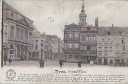 Mons - Grand-Place - Circulé En 1914 - Animée - TBE - Mons