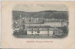 Stavelot - Panorama De Belle Vue - Circulé - Dos Non Séparé - TBE - Stavelot