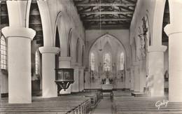 Charente-maritime : ILE DE RE : Sainte-marie ( Intérieur De L'église ) - Ile De Ré