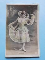 "Mode Danse ""Moulin Rouge"" Walery Paris / Prioglio 1907 Carte Photo - Femmes"