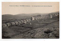 08   HAYBES  -  Les Baraquements Sur La Route Du Charnois - Autres Communes