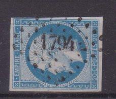 """FRANCE  : PC 1794 . """" LUCY - LE - BOIS """" . (83) . N° 14 . TB . - Marcophilie (Timbres Détachés)"""