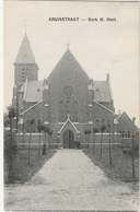 MOERBEKE WAAS  Kruisstraat Kerk H. Hert - Moerbeke-Waas