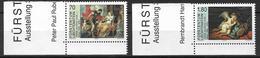 """2000  Liechtenstein   Mi. 1227-8 **MNH    . Kunstausstellung """"Götter Wandelten Einst ..."""", Vaduz - Unused Stamps"""
