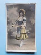 """Mode Danse """"Les Gaufrières"""" Walery Paris  1907 Carte Photo - Femmes"""
