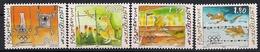 2000  Liechtenstein   Mi. 1241-3**MNH   Olympische Sommerspiele, Sydney. - Unused Stamps