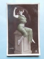 Mode Danse 1908 Stebbing Phot. Paris Carte Photo - Femmes