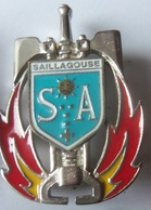 INSIGNE SAPEURS POMPIERS SAILLAGOUSES - Firemen