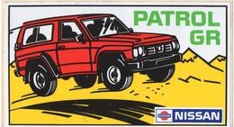 AUTOCOLLANT AUTOMOBILE NISSAN PATROL GR - Autocollants