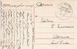 Kais. Deutsche MARINE - SCHIFFSPOST - No: 55 - SMS STETTIN - 1915 - - Briefe U. Dokumente
