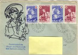 F+ Frankreich 1971 Mi 1777-78 Rotes Kreuz (UNIKAT / ÙNICO / PIÉCE UNIQUE) - France