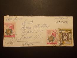 Marcophilie  Cachet Lettre Obliteration - Enveloppe PEROU Destination SUISSE - 1960 - (1886) - Peru