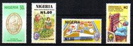 NIGERIA. N°592-5 De 1992. Condition Féminine/Tapis. - Nigeria (1961-...)