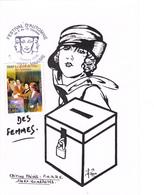 Carte-Maximum FRANCE N° Yvert 3353 (DROIT DE VOTE DES FEMMES) Obl Sp Ill Sainte-Maxime (Ed Beaucaire) - Maximum Cards