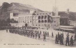 Monaco - Défilés Des Troupes Militaires - Militaria - Palais Princier