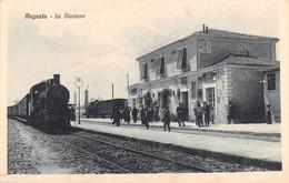 Italia -  AUGUSTA, La Stazione - Siracusa