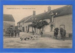 28 EURE ET LOIR - OUARVILLE Intérieur De Ferme (voir Descriptif) - Autres Communes