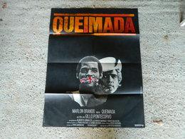 AFFICHE CINEMA QUEIMADA AVEC MARLON BRANDO - Manifesti
