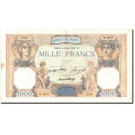 France, 1000 Francs, 1 000 F 1927-1940 ''Cérès Et Mercure'', 1937, 1937-05-13 - 1871-1952 Circulated During XXth