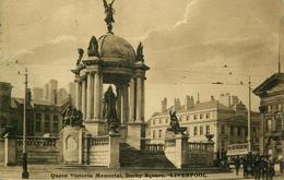 MERSEYSIDE - LIVERPOOL - QUEEN VICTORIA MEMORIAL, DERBY SQUARE  Me784 - Liverpool