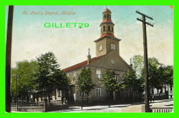 HALIFAX, NOVA SCOTIA - ST PAUL'S CHURCH - ANIMATED - THE VALENTINE'S SERIES - ILLUSTRATED POST CARD CO - - Halifax