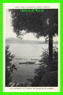 ST DONAT, QUÉBEC - LAC OUAREAU - ANIMÉE DE CANOTS - VIEW FROM LAKEWOOD LODGE TERRACE - - Autres