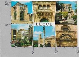 CARTOLINA NV ITALIA - LECCE - Vedutine - Multivue - 10 X 15 - Lecce