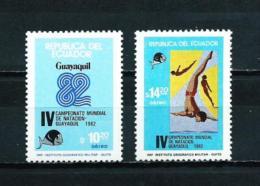 Ecuador  Nº Yvert  A-744/5  En Nuevo - Ecuador