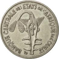 Monnaie, West African States, 100 Francs, 1967, TTB, Nickel, KM:4 - Ivory Coast