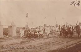 Tunisie Carte Photo - Bir Metalits - Fantasia Arabe Carte écrite 1902 - - Tunisia