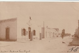 Tunisie Carte Photo - Gabes Boulevard Faure Biguet - Carte écrite 1902 - - Tunisia