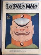Le Pele Mele Rabier Couverture Par Paul D'espagnat 2 Fevrier 1919 Tete De Boche - Journaux - Quotidiens