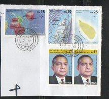 2017  MAURITIUS - Maritime Zones - Mauritius (1968-...)
