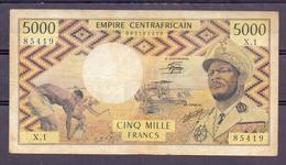 Empire Centrafricain 5000 Fr  Bokasa   VF - Other - Africa