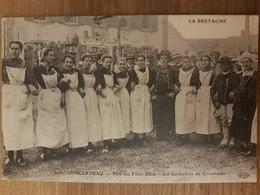 Concarneau.fête Des Filets Bleus.les Sardinières De Concarneau.édition ELD 218 - Concarneau