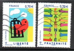 N° 5021, 5023 - 2016 - Used Stamps