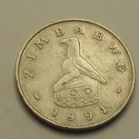 1991 - Zimbabwe - 10 CENTS - KM 3 - Zimbabwe