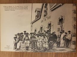 L'abri Du Marin Du Passage Lanriec Vu De La Jetée De Concarneau.pêcheurs.édition Oeuvre Des Abris Du Marin - Concarneau