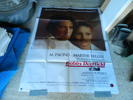 AFFICHE CINEMA BOBBY DEERFIELD FILM DE SIDNEY POLLACK AVEC AL PACINO ET MARTHE KELLER - Manifesti