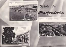 Saluti Da MANFREDONIA.......................tre Vedute. - Manfredonia